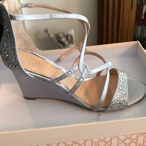 Badgley Mischka- wedding shoe